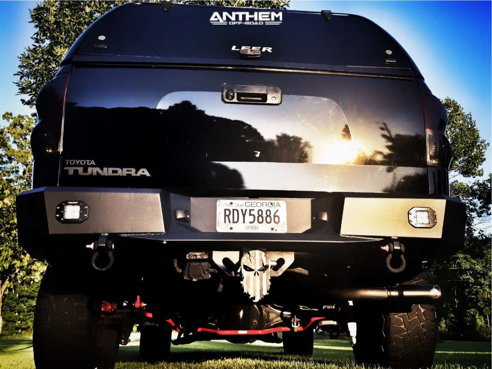 3 2008 Tundra Toyota Zone Suspension Lift 7in Anthem Defender Matte Black