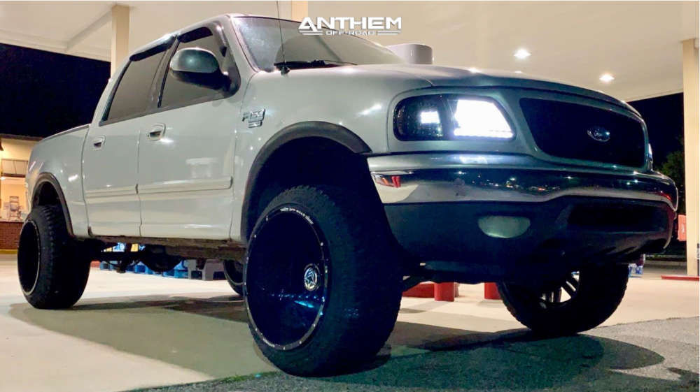 5 2001 F 150 Ford Stock Stock Anthem Off Road Equalizer Machined Black