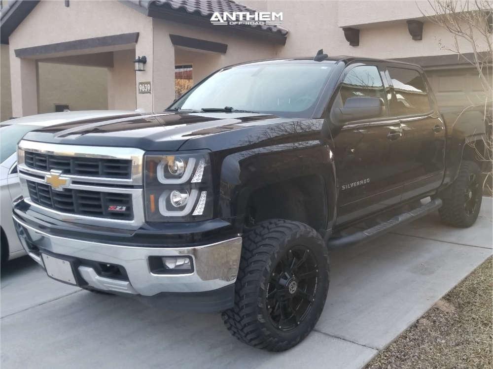 1 2015 Silverado 1500 Chevrolet Other Suspension Lift 65in Anthem Defender Black