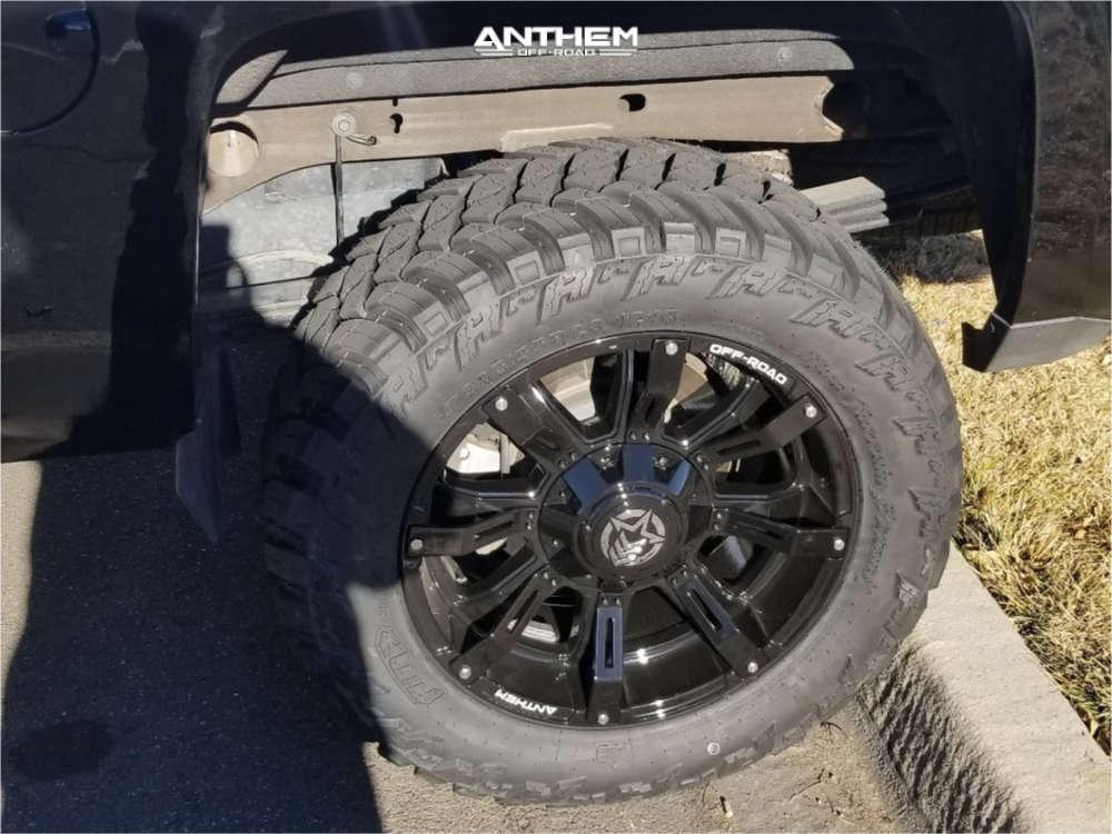 10 2015 Silverado 1500 Chevrolet Other Suspension Lift 65in Anthem Defender Black