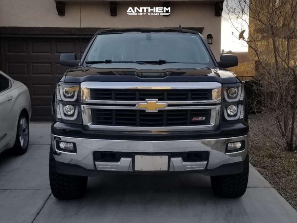 12 2015 Silverado 1500 Chevrolet Other Suspension Lift 65in Anthem Defender Black