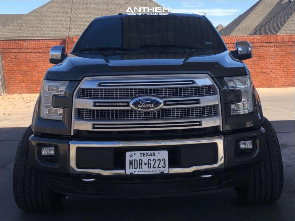 2 2015 F 150 Ford Readylift Leveling Kit Anthem Equalizer Black