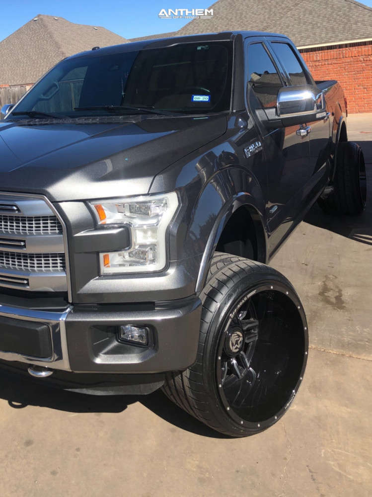 8 2015 F 150 Ford Readylift Leveling Kit Anthem Equalizer Black