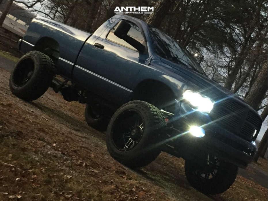 12 2002 Ram 1500 Dodge Pro Comp Suspension Lift 9in Anthem Instigator Black