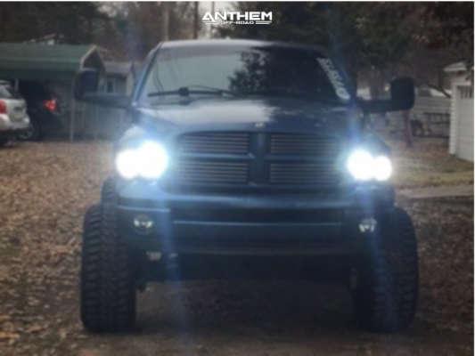 2 2002 Ram 1500 Dodge Pro Comp Suspension Lift 9in Anthem Instigator Black