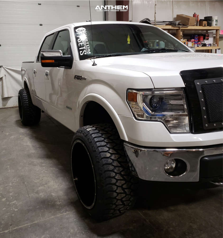 2 2013 F 150 Ford Supreme Suspension Lift 3in Anthem Equalizer Machined Accents