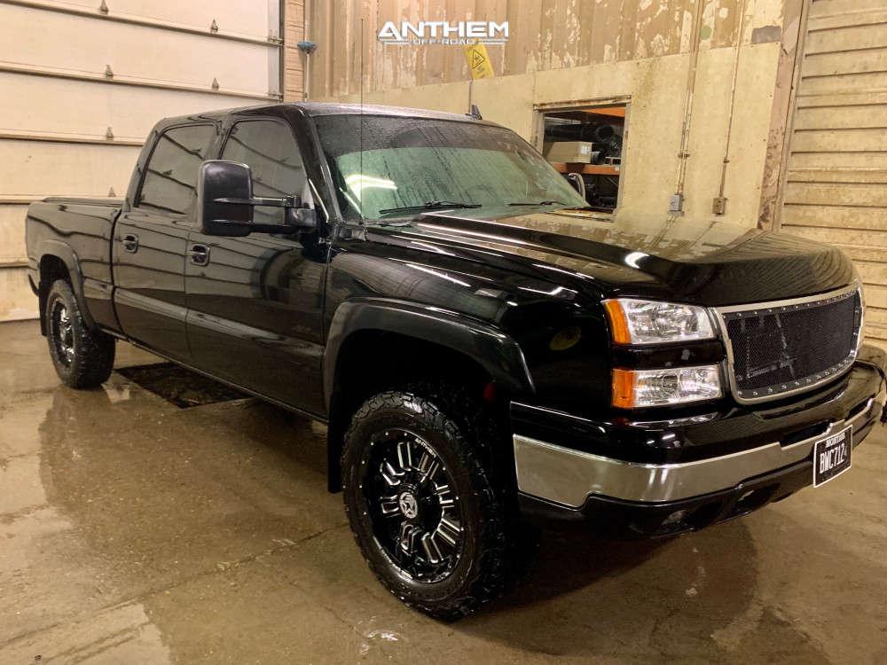 1 2006 Silverado 1500 Hd Chevrolet Rough Country Leveling Kit Anthem Enforcer Black