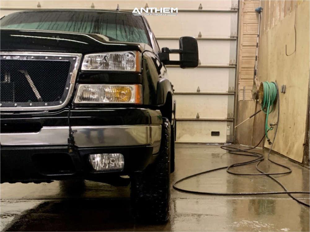 2 2006 Silverado 1500 Hd Chevrolet Rough Country Leveling Kit Anthem Enforcer Black