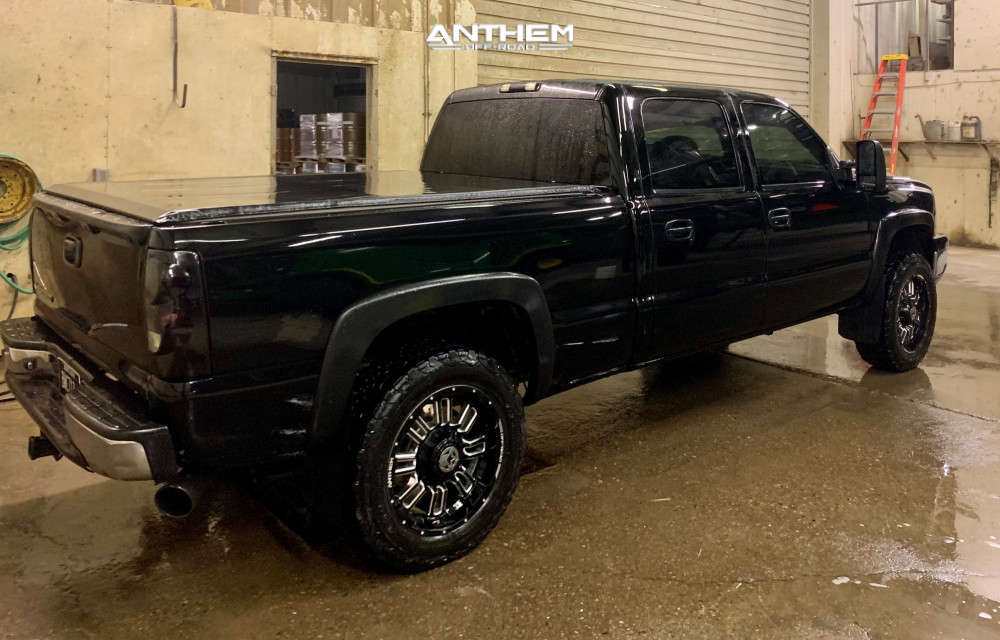4 2006 Silverado 1500 Hd Chevrolet Rough Country Leveling Kit Anthem Enforcer Black