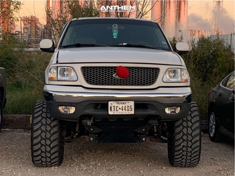 2 2001 F 150 Ford Rough Country Suspension Lift 10in Anthem Equalizer Black