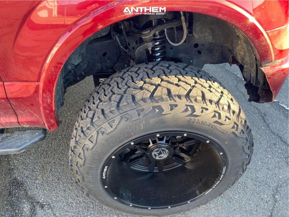 5 2015 F 150 Ford Readylift Suspension Lift 7in Anthem Equalizer Matte Black