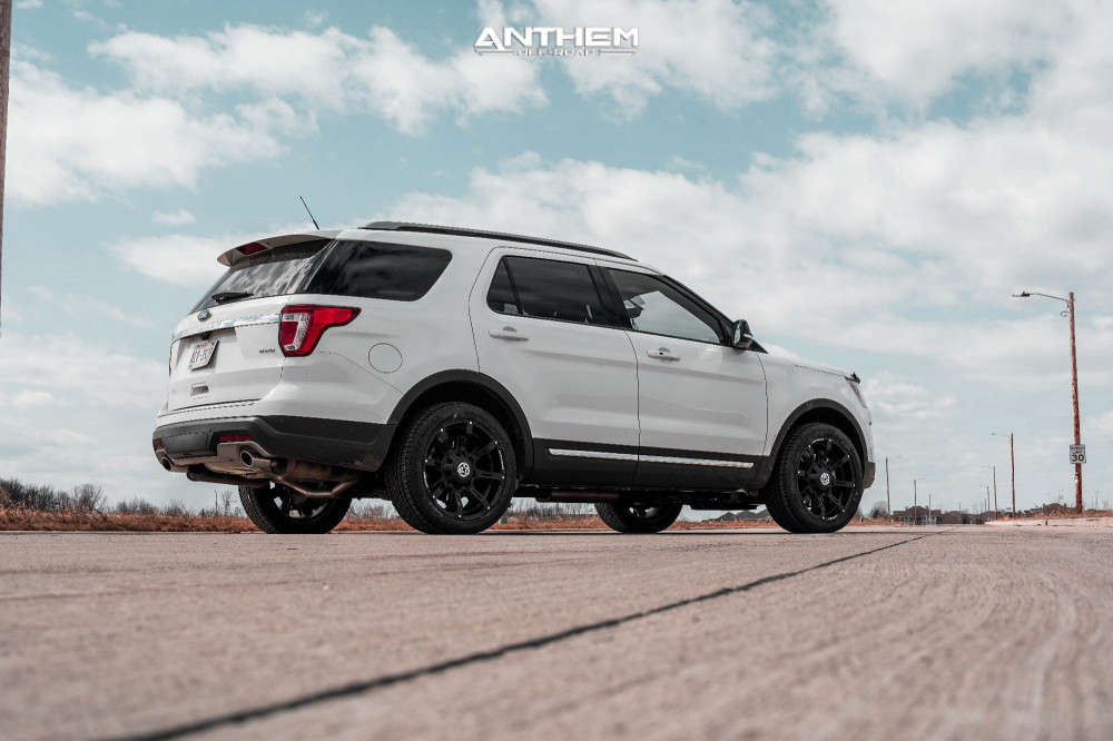 6 2018 Explorer Ford Stock Air Suspension Anthem Off Road A712 Defender Black
