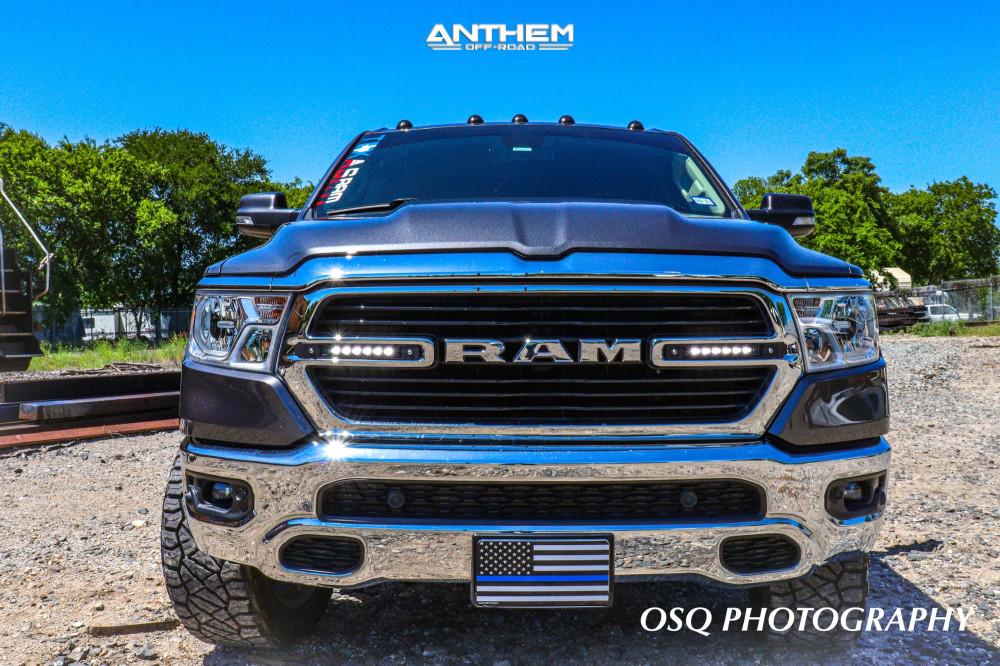2 2019 1500 Ram Readylift Suspension Lift 35in Anthem Off Road A712 Defender Black