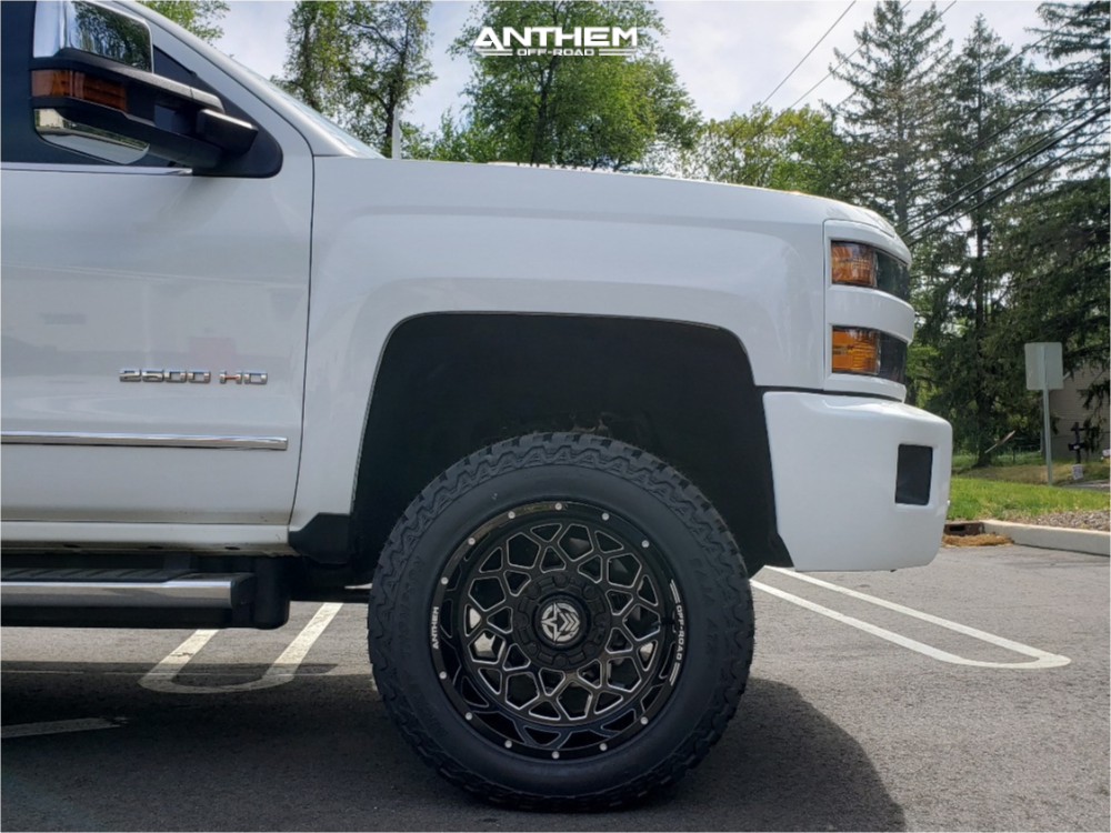 2015 CHEVROLET SILVERADO 2500 HD Anthem Off-Road Avenger 20x12 -44 Mickey Thompson Baja Atz P3 305/55 Kryptonite Leveling Kit