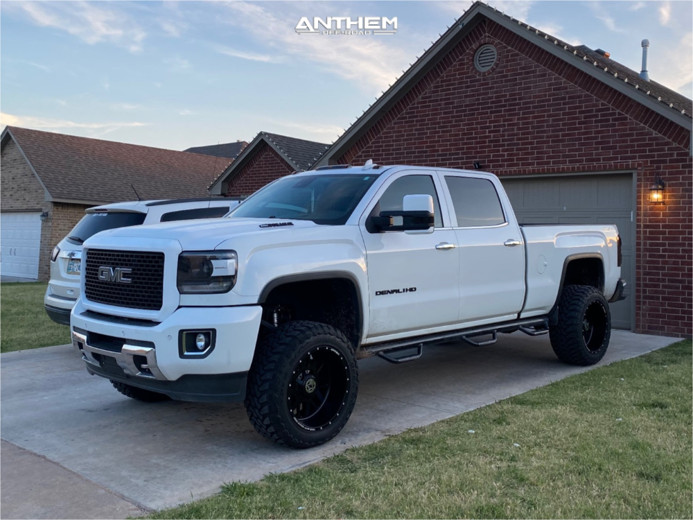 Lifted GMC Sierra 2500 Anthem Wheels