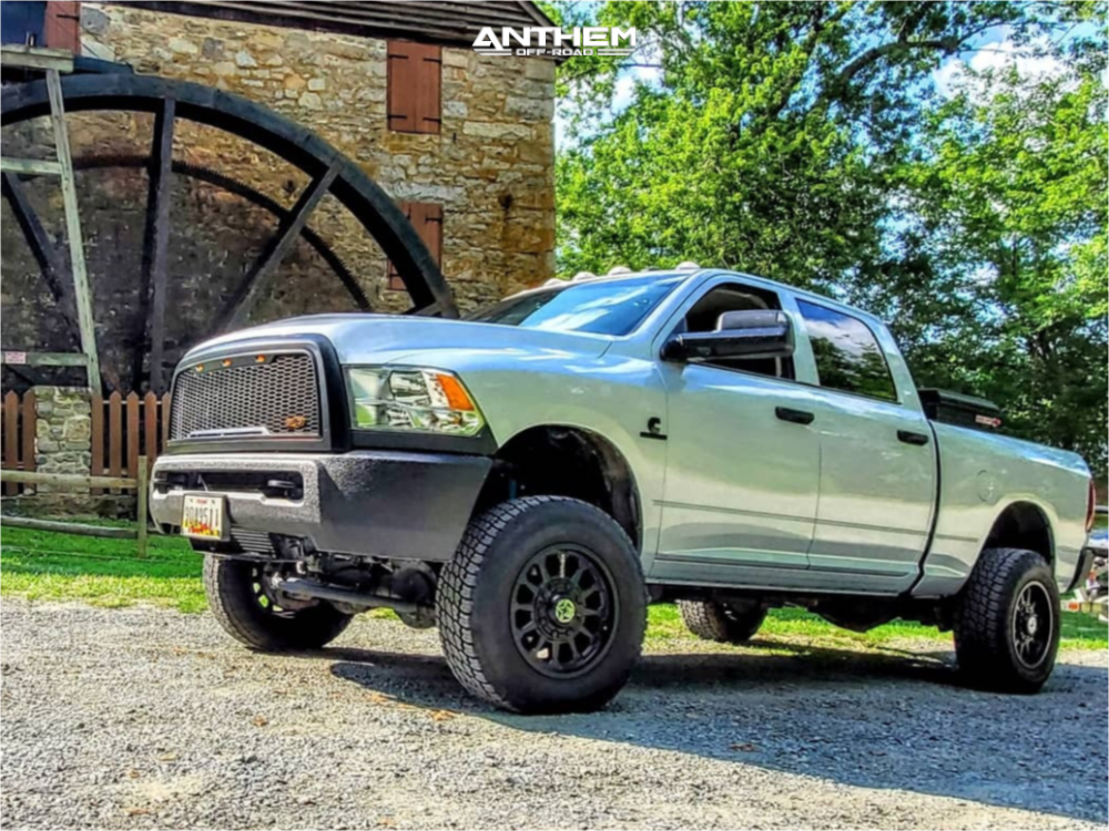 Lifted Ram 2500 with Anthem Wheels