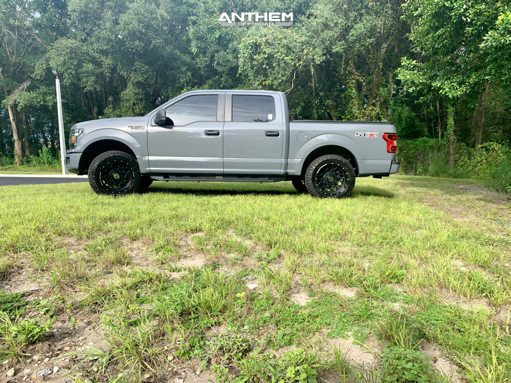 4 2019 F 150 Ford 2 Inch Level Leveling Kit Anthem Off Road Avenger Matte Black