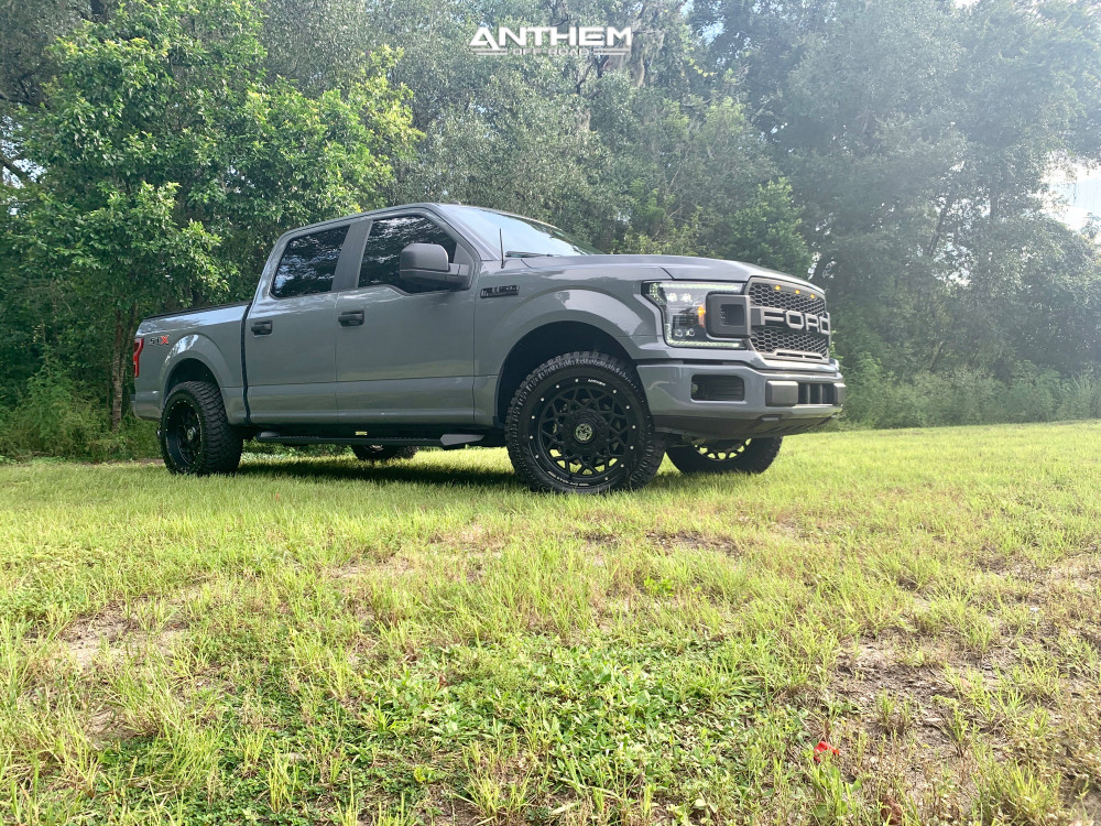 9 2019 F 150 Ford 2 Inch Level Leveling Kit Anthem Off Road Avenger Matte Black