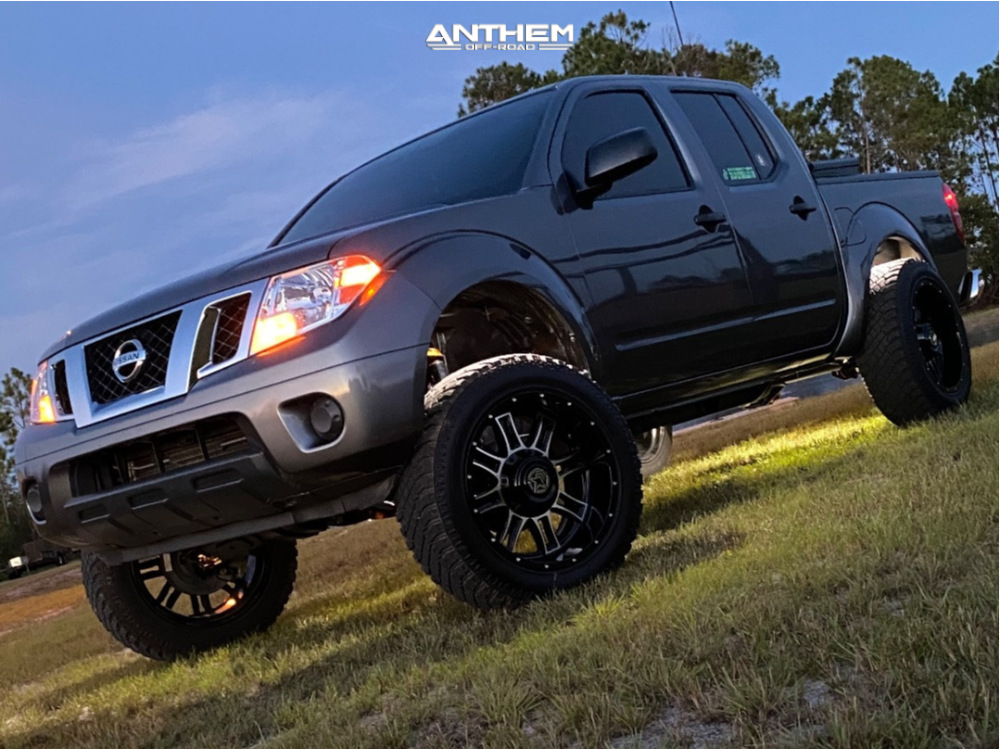 1 2019 Frontier Nissan Cst Suspension Lift 7in Anthem Off Road Instigator Machined Accents