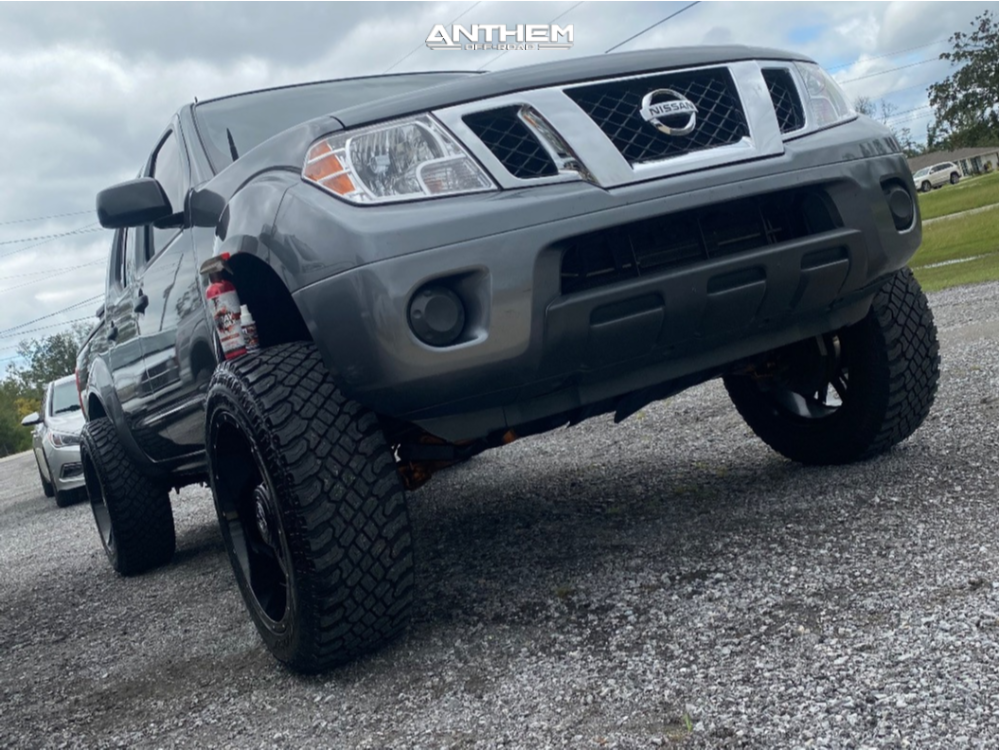 2 2019 Frontier Nissan Cst Suspension Lift 7in Anthem Off Road Instigator Machined Accents