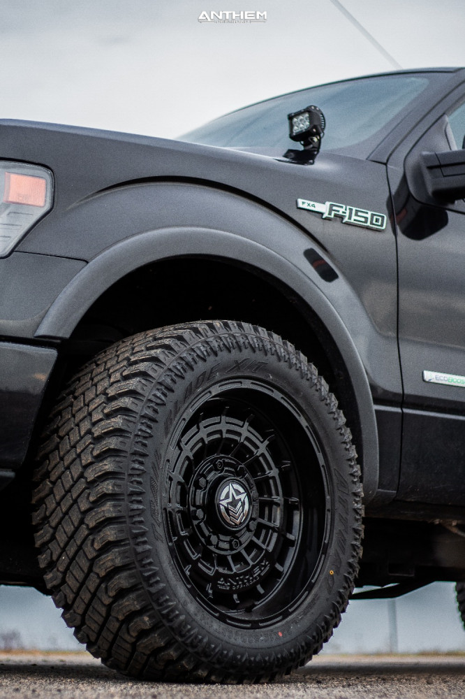 9 2014 F 150 Ford Stock Air Suspension Anthem Off Road Viper Black