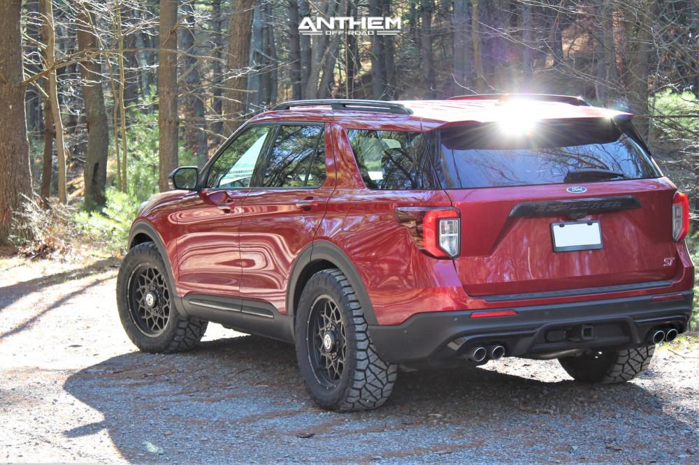 15 2020 Explorer Ford Stock Air Suspension Anthem Off Road Avenger Black
