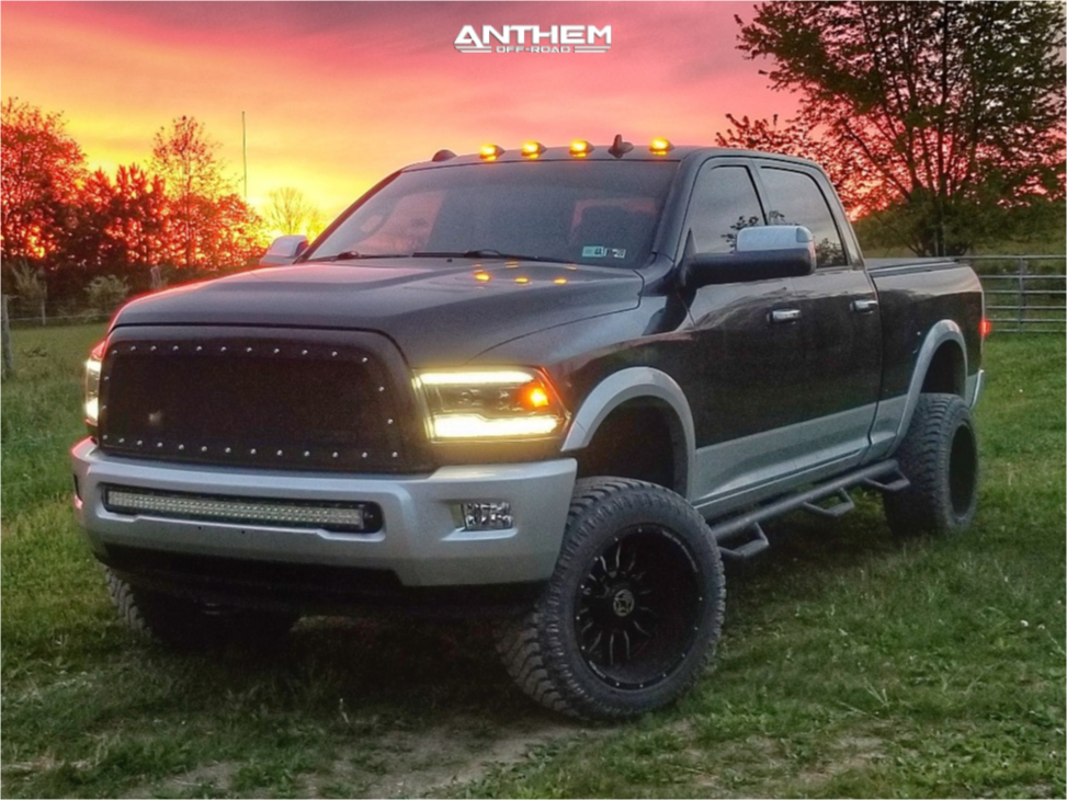 12 2015 2500 Ram Readylift Suspension Lift 3in Anthem Off Road Equalizer Machined Accents