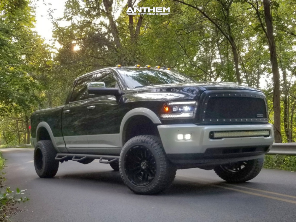 9 2015 2500 Ram Readylift Suspension Lift 3in Anthem Off Road Equalizer Machined Accents