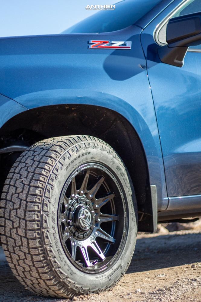 5 2021 Silverado 1500 Chevrolet Stock Air Suspension Anthem Off Road Liberty Black