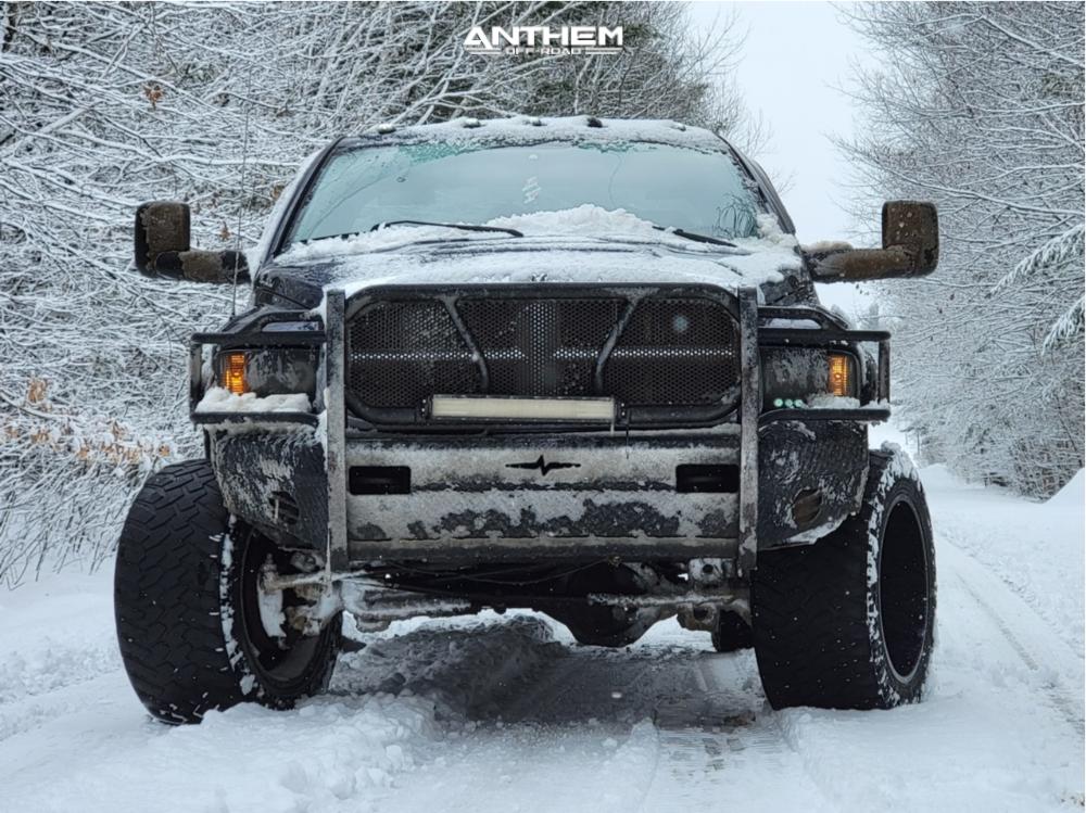 14 2003 Ram 2500 Dodge Rough Country Leveling Kit Anthem Off Road Equalizer Black