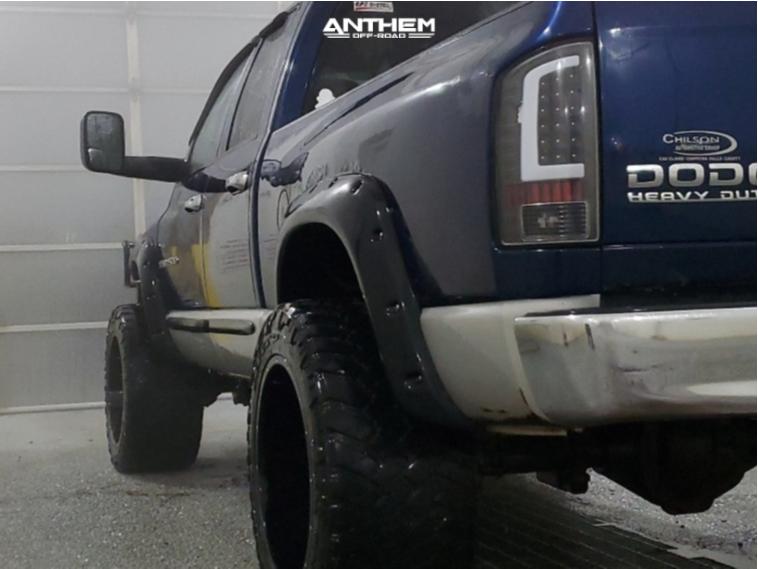 4 2003 Ram 2500 Dodge Rough Country Leveling Kit Anthem Off Road Equalizer Black