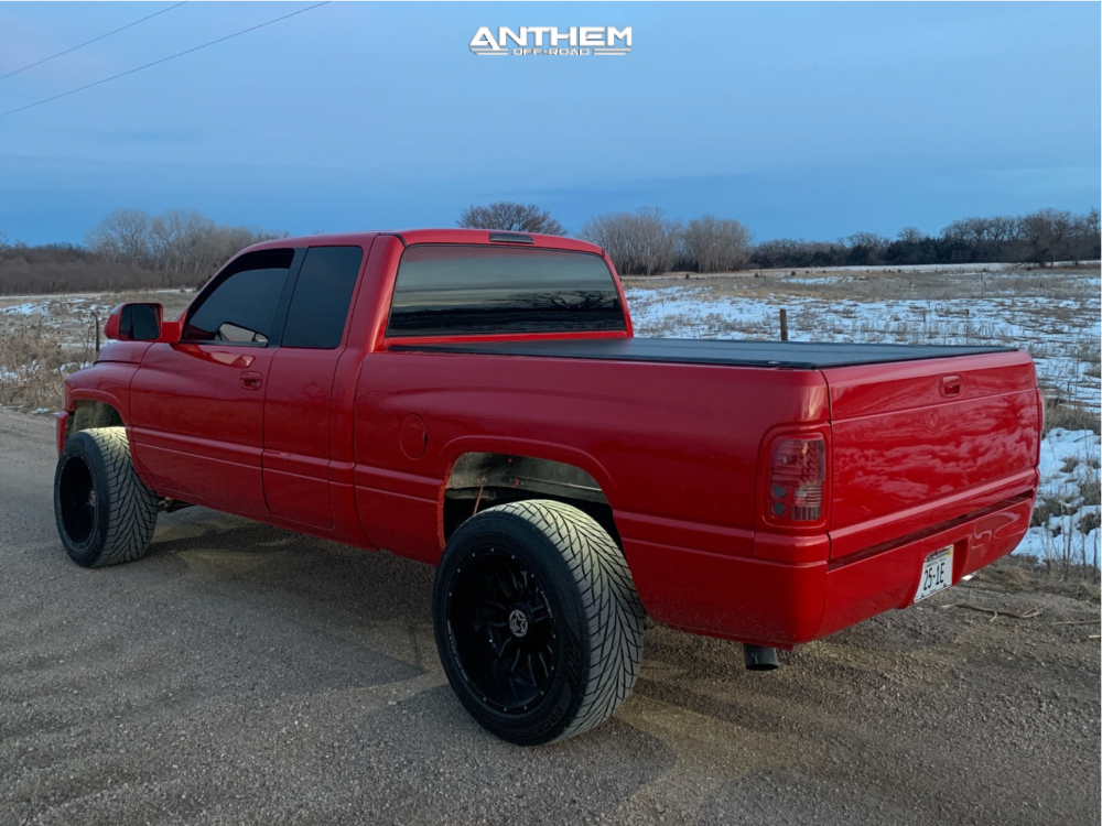 4 2001 Ram 1500 Dodge 2 Inch Level Leveling Kit Anthem Off Road Equalizer Machined Accents