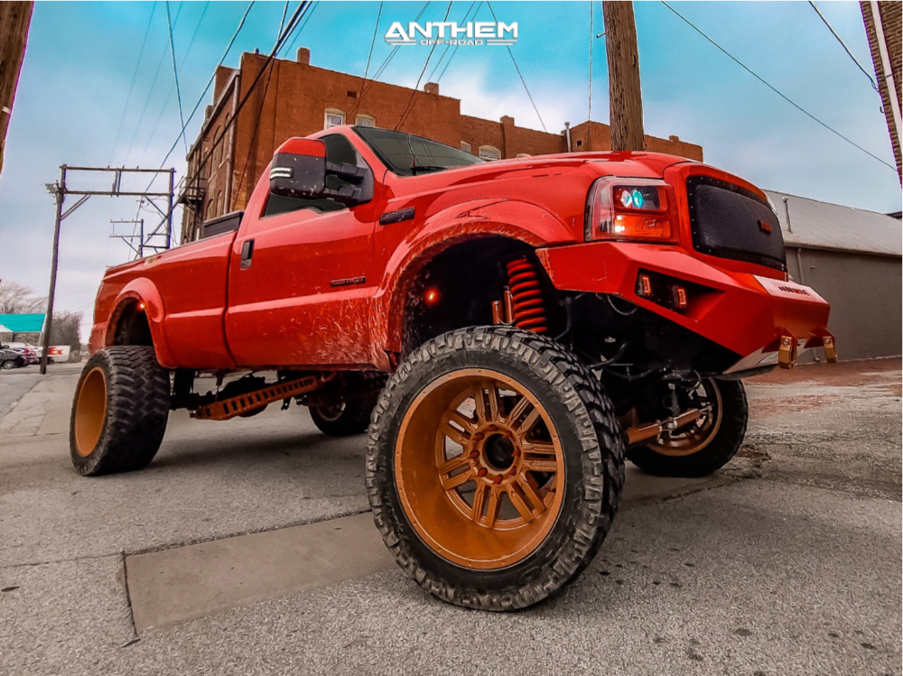 1 2006 F 250 Super Duty Ford Rough Country Suspension Lift 6in Anthem Off Road Equalizer Bronze