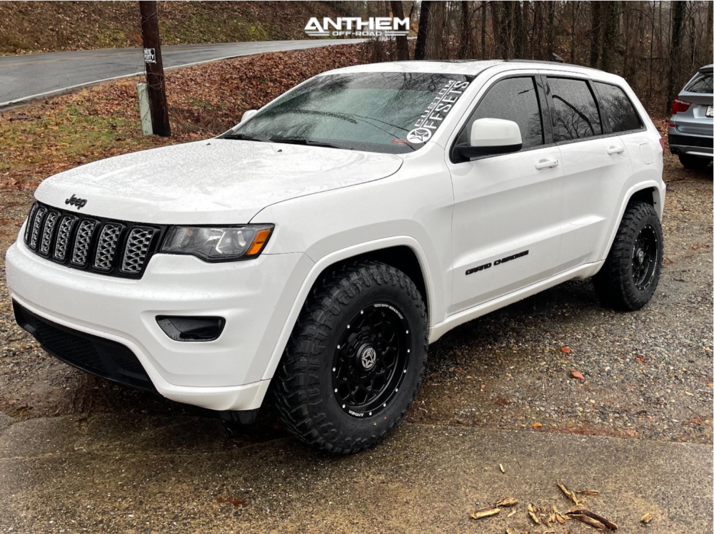 3 2017 Grand Cherokee Jeep Limited Stock Air Suspension Anthem Off Road Avenger Black