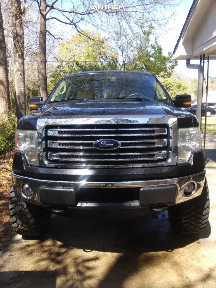 2 2013 F 150 Ford Rough Country Suspension Lift 6in Anthem Off Road Gunner Black