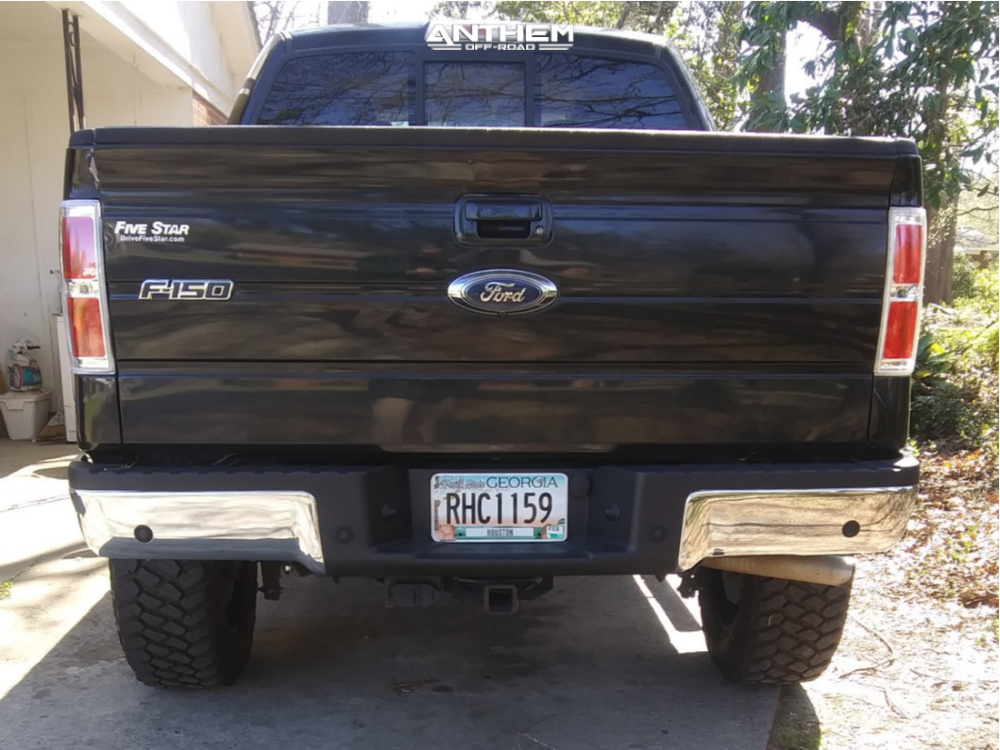 3 2013 F 150 Ford Rough Country Suspension Lift 6in Anthem Off Road Gunner Black Milled
