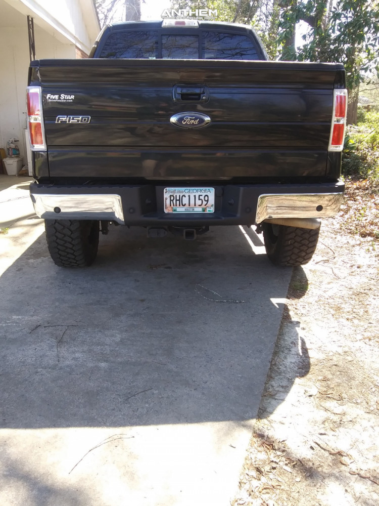 3 2013 F 150 Ford Rough Country Suspension Lift 6in Anthem Off Road Gunner Black