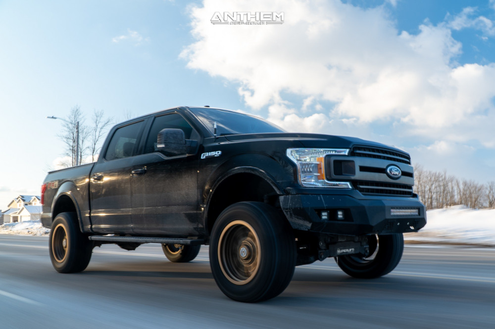 3 2018 F 150 Ford Superlift Suspension Lift 6in Anthem Off Road Rogue Bronze