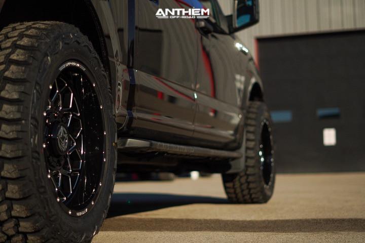 3 2020 F 150 Ford Stock Air Suspension Anthem Off Road Avenger Black