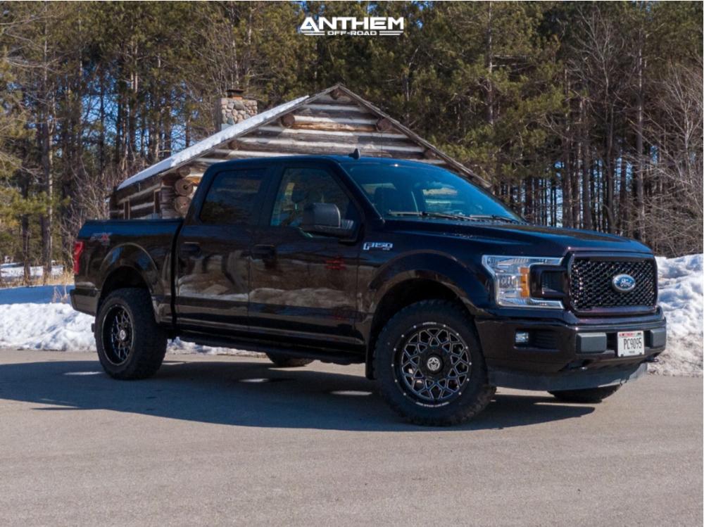 1 2020 F 150 Ford Stock Air Suspension Anthem Off Road Avenger Black