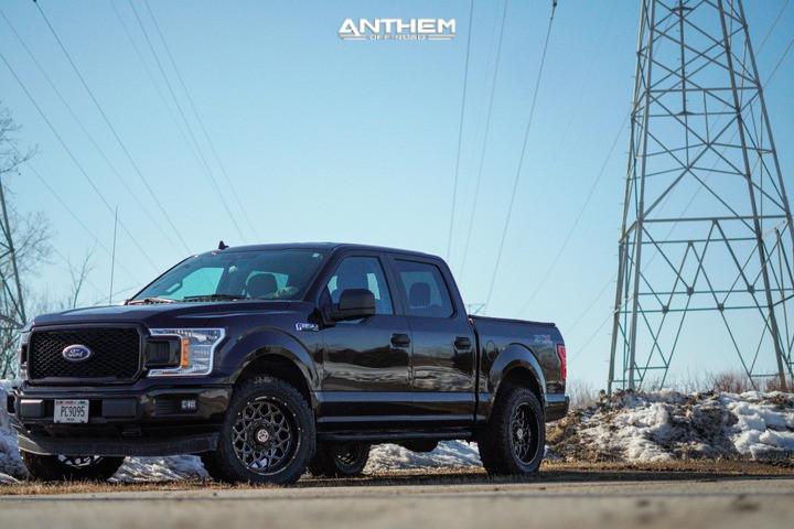4 2020 F 150 Ford Stock Air Suspension Anthem Off Road Avenger Black