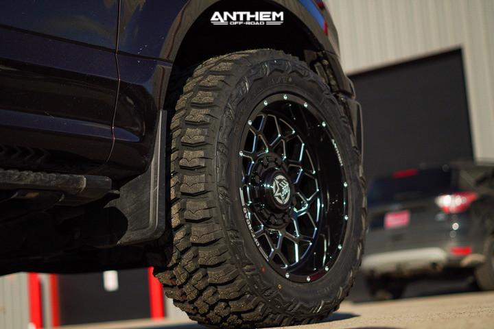 5 2020 F 150 Ford Stock Air Suspension Anthem Off Road Avenger Black