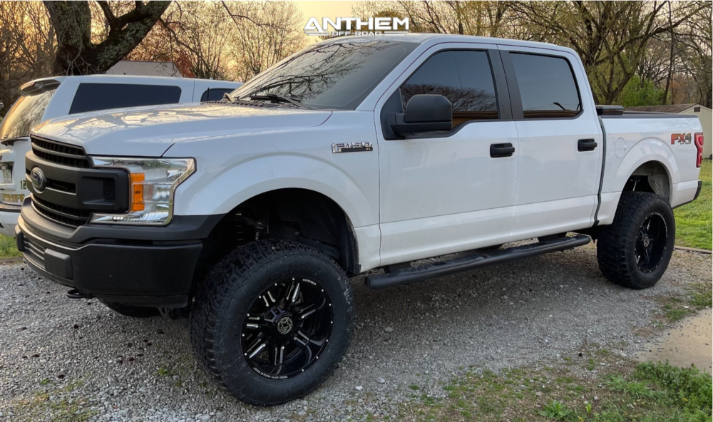 1 2019 F 150 Ford Rough Country Suspension Lift 6in Anthem Off Road Equalizer Machined Accents