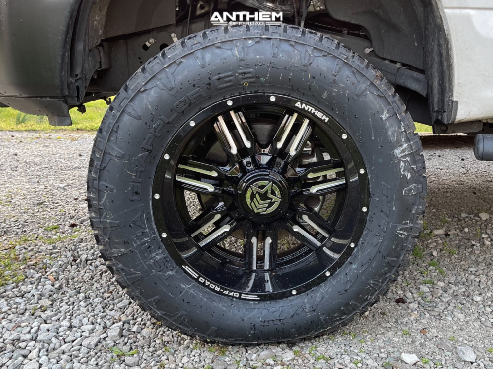 8 2019 F 150 Ford Rough Country Suspension Lift 6in Anthem Off Road Equalizer Machined Accents