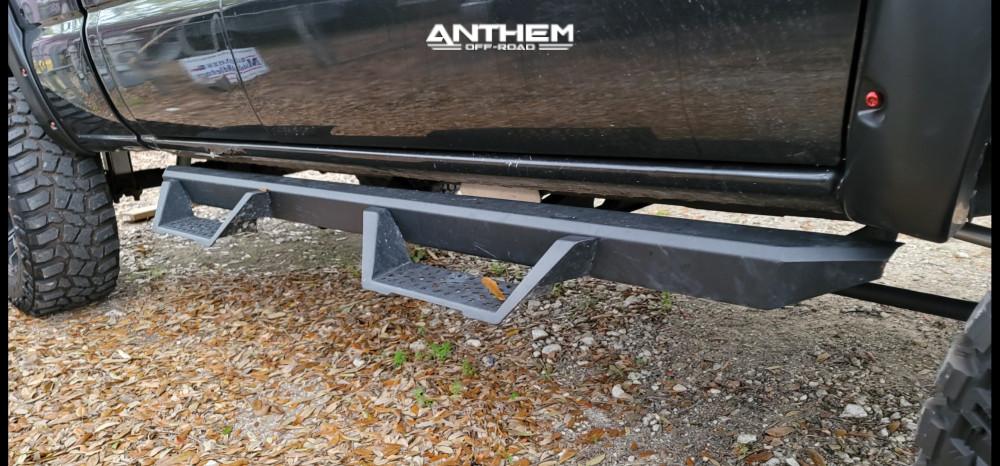 7 2005 Silverado 1500 Chevrolet Mcgaughys Suspension Lift 9in Anthem Off Road Defender Black