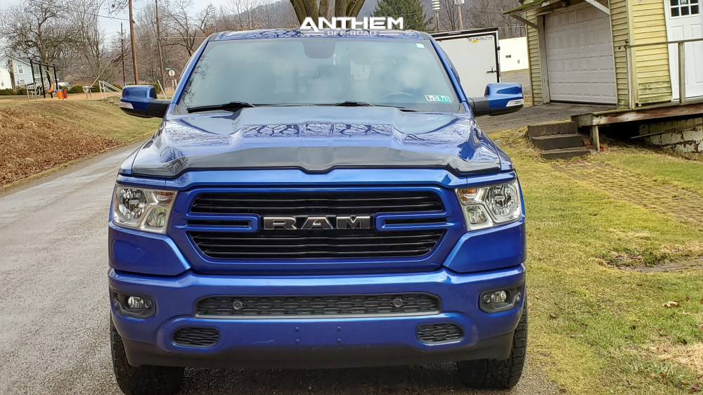 2 2019 1500 Ram 2 Inch Level Leveling Kit Anthem Off Road Equalizer Machined Accents