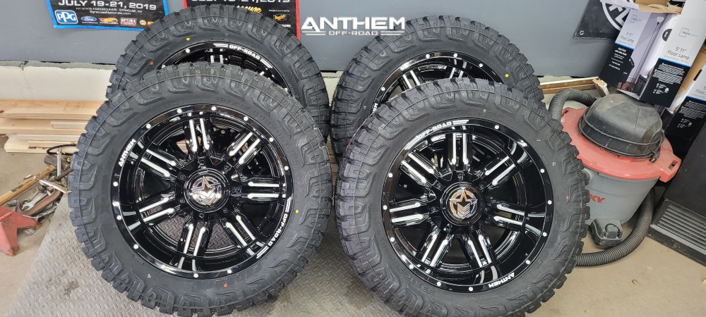 9 2016 F 150 Ford Motofab Leveling Kit Anthem Off Road Equalizer Machined Black