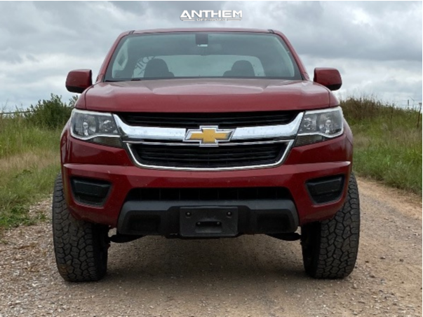 2 2015 Colorado Chevrolet Eibach Suspension Lift 25in Anthem Off Road Avenger Black