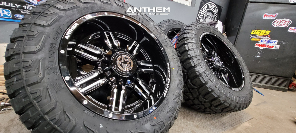 14 2016 F 150 Ford Motofab Leveling Kit Anthem Off Road Equalizer Machined Black
