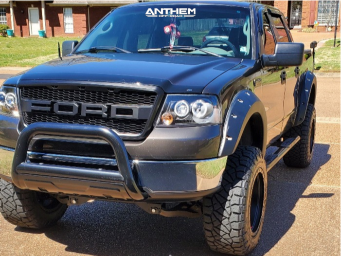 1 2006 F 150 Ford Zone Suspension Lift 6in Anthem Off Road Rogue Black